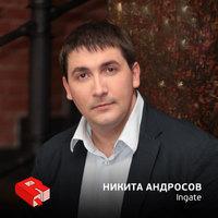 Руководитель холдинга Ingate Никита Андросов